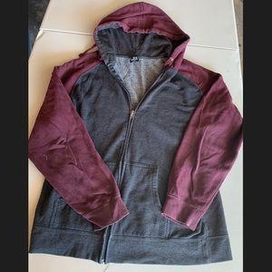 SS Zip Up Sweater